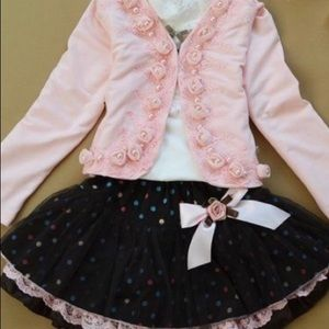 Other - Pink and Brown Novelty Set, 3 pc